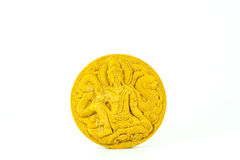Monk Thai amulet and talismans amulets. For protect Stock Image