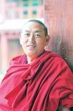 Monk in Tibet Stock Photography