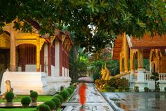 Wat Phra Singh Temple, Chiang Mai, Thailand Royalty Free Stock Images