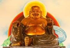 Monk of wealth Stock Photo