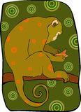 Monkey 3 Royalty Free Stock Photos