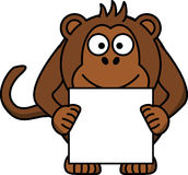 Monkey, Animal, Happy, Paper, Brown Royalty Free Stock Photos