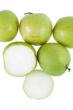 Affe-apfelgrüne Frucht der Natur Lizenzfreies Stockfoto