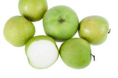 Affe-apfelgrüne Frucht der Natur Stockbilder