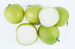 Monkey Apple Green Fruit of Nature Royalty Free Stock Images