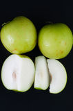 Monkey Apple Green Fruit of Nature Royalty Free Stock Photos