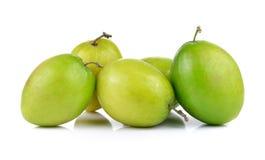 Monkey apple isolated on white background Royalty Free Stock Image