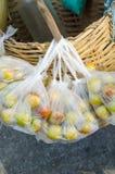 Monkey apple. In plastic bag Stock Photography