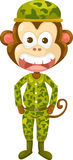 Monkey army Stock Photo