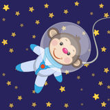 Monkey astronaut Stock Photos