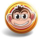 Monkey badge Stock Images