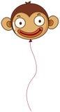 A monkey balloon Stock Images