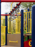 Monkey Bar. Rings at a playground Stock Images