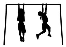 Monkey Bars Stock Image