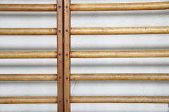 Monkey Bars Texture. Closeup of monkey bars in a gymnasium stock images