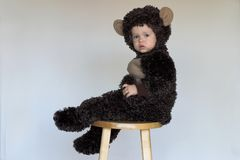 Monkey Boy Royalty Free Stock Photo