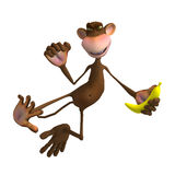 Monkey Business Royalty Free Stock Photography
