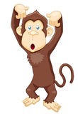Monkey cartoon Royalty Free Stock Photography