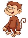 Monkey cartoon Stock Photo