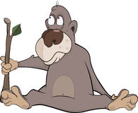 Monkey cartoon Stock Photo