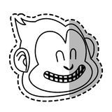 monkey cartoon design Royalty Free Stock Image