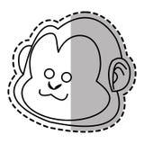 monkey cartoon design Stock Images