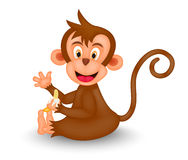 Monkey Cartoon Stock Photography