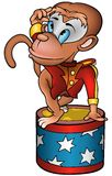 Monkey circus performer Stock Photos