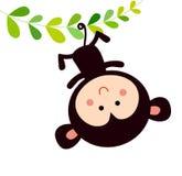 Monkey. A cute monkey,cartoon art Stock Photo
