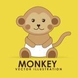 Monkey cute Royalty Free Stock Photo