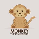 Monkey cute Stock Photo