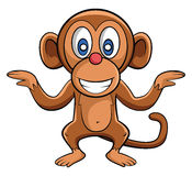 Monkey Dance Stock Photo