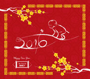 Monkey design for Chinese New Year celebration Royalty Free Stock Photo