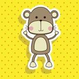 Monkey design Stock Image