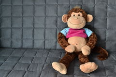 Monkey doll is lonely Stock Image