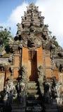 Monkey el templo del bosque en Ubud, Bali en Indonesia Imágenes de archivo libres de regalías