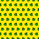 Monkey - emoji pattern 69. Pattern of a emoji monkey that can be used as a background, texture, prints or something else vector illustration