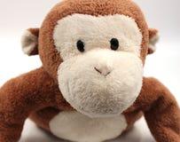 Monkey Face. Closeup shot of a cute stuffed animal monkey face Stock Image