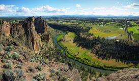 Monkey face, Smith Rock Park Royalty Free Stock Photography