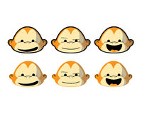 Monkey Faces Stock Images