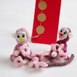 Monkey, Feliz Año Nuevo, Vietnam Tet Fotografía de archivo libre de regalías