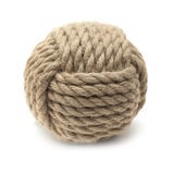 Monkey fist ornamental knot Stock Images