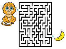 Monkey game. Stock Image