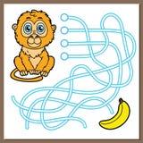 Monkey game. Royalty Free Stock Photos