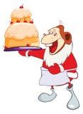 Monkey Gourmet Chef. Year of the Monkey. Cartoon Character. Royalty Free Stock Photos