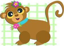 Monkey Grid Royalty Free Stock Photos