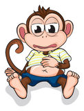 A monkey Royalty Free Stock Images