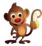 Monkey, illustrazione Immagini Stock Libere da Diritti