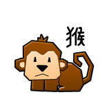 The monkey Stock Photography