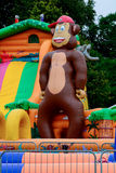 Monkey inflatable Stock Photos